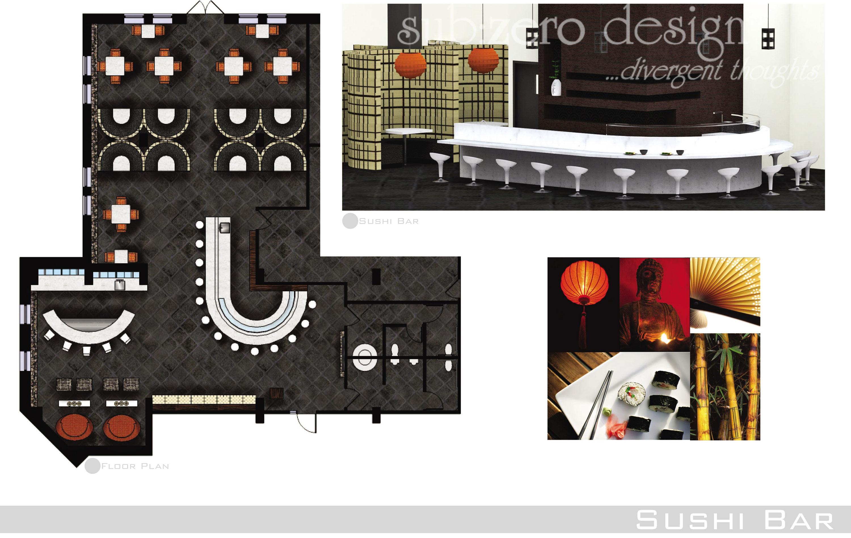 Sub zero animation vfx commercial interior floor plan