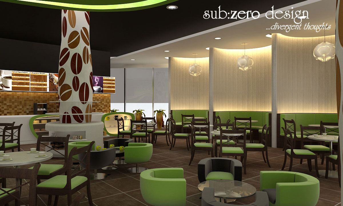 Sub Zero Animation Vfx Green Restaurant Office And Store