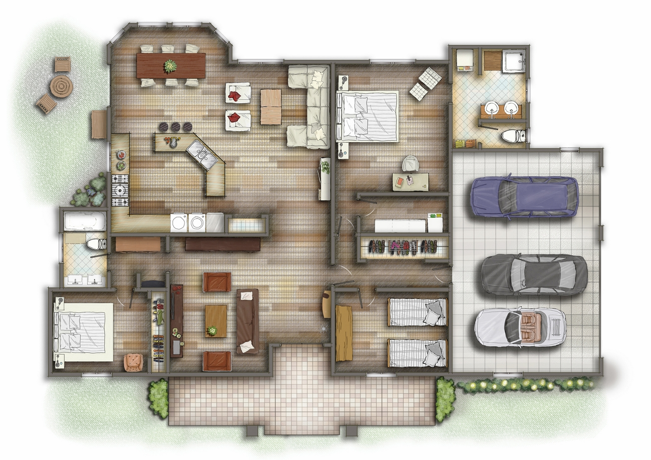 3d-studio-ho-chi-minh-private-residential-house-2d-floor-plans-5