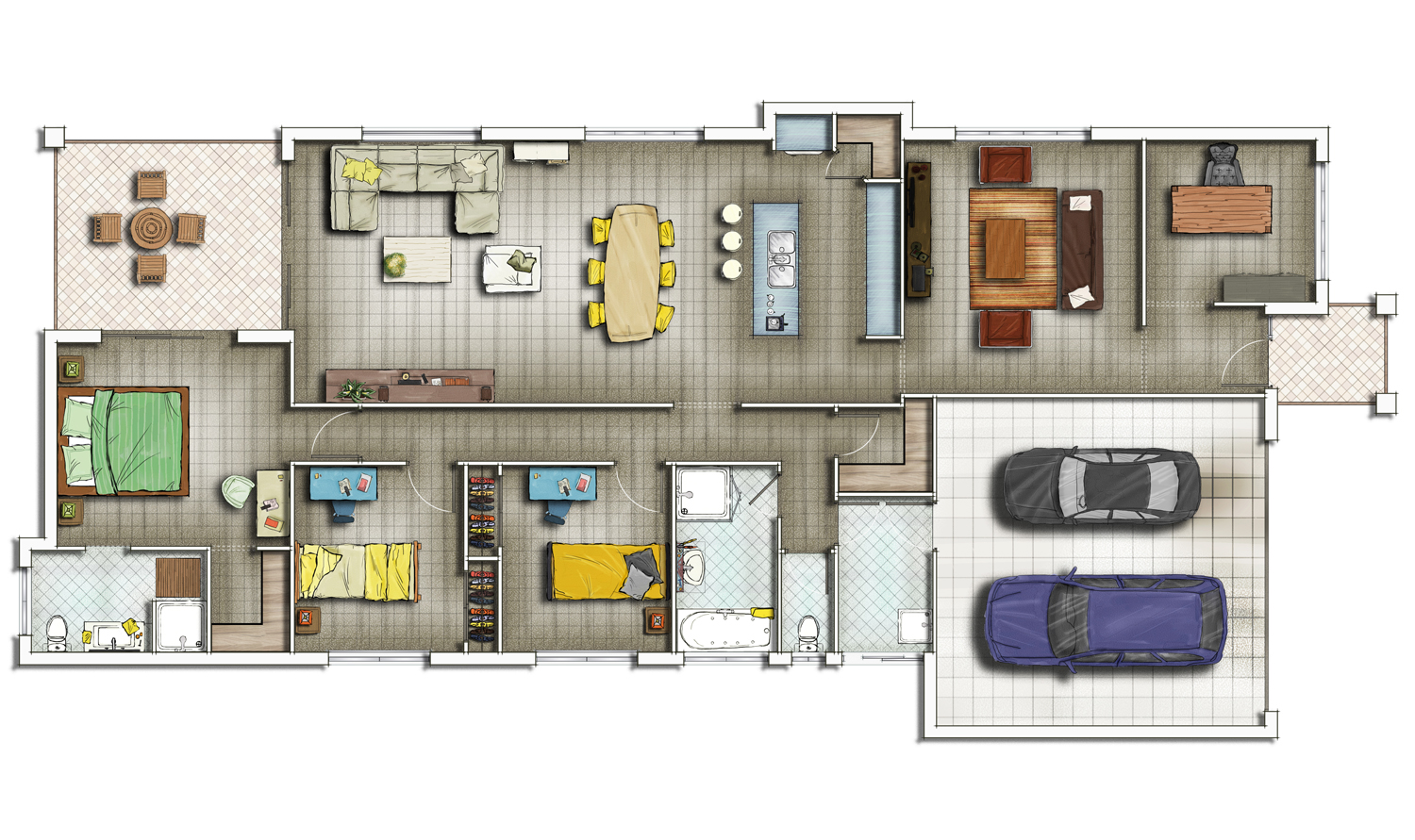 Residential floor plans for Residential house floor plan