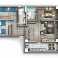 3d-studio-ho-chi-minh-private-residential-house-2d-floor-plans-3