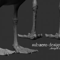 3d-modeling-seagull-feet