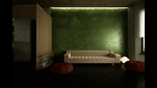 3D Interior Animation Walk-Through Interior Design Visualization