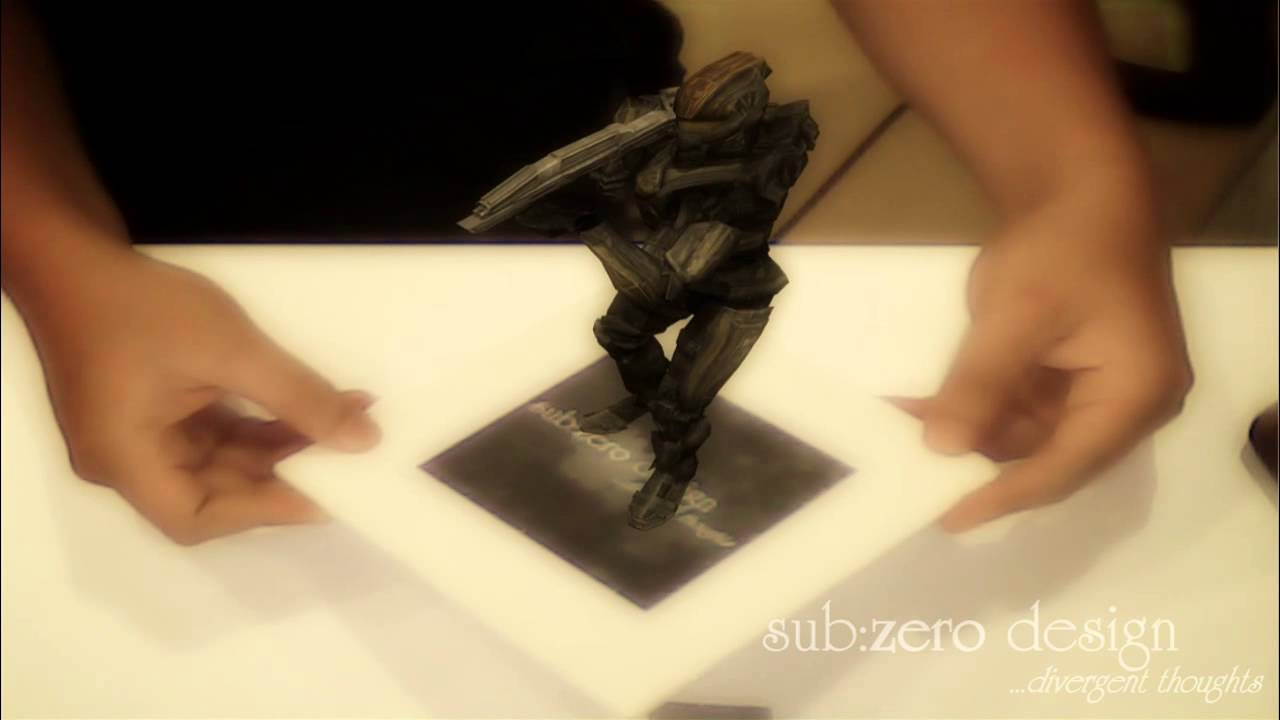 Augmented Reality ~ Master Chief