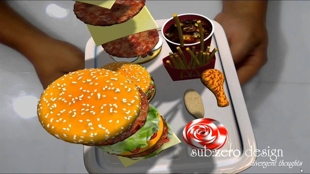 McDonald's Augmented Reality
