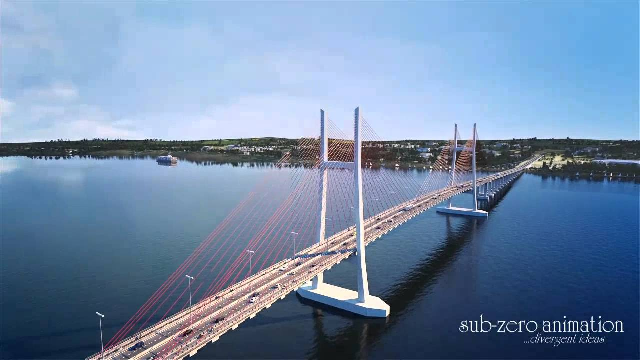 Cao Lanh Bridge Animation