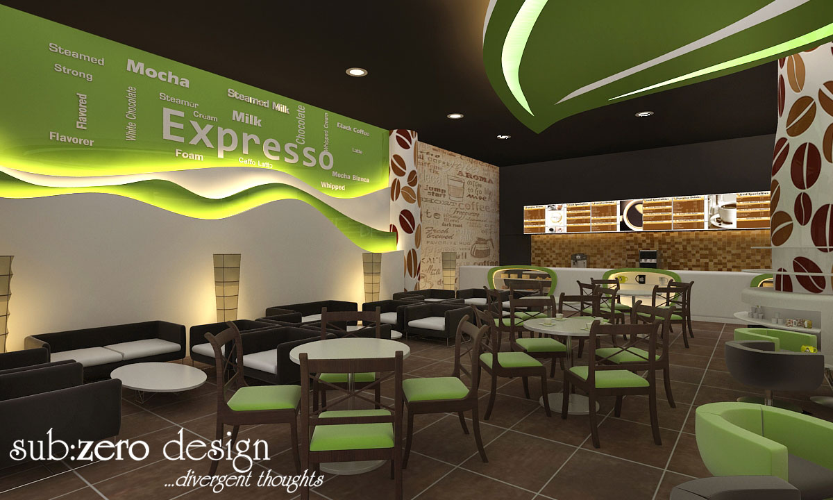 Sub zero animation vfx 3d interior for Cuisine on the green